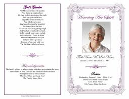 funeral program template funeral program templates purple frame