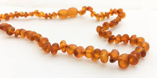 amber beads necklace images Maple soother amber teething necklace raw amber teething necklace jpg