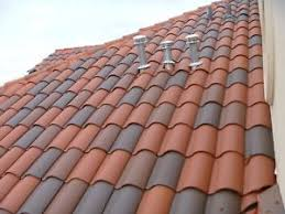 S Tile Roof S Type Clay Roof Tile Roofing Mediterranean Rustic Look