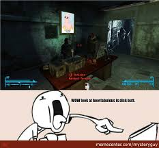Fallout New Vegas Memes - meanwhile at my office in fallout new vegas by mysteryguy meme