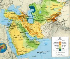 Central And Southwest Asia Map Quiz by Map Of Southwest Asia Physical Features And Jpg