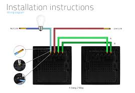 ceiling rose wiring with two way switching older cable colours