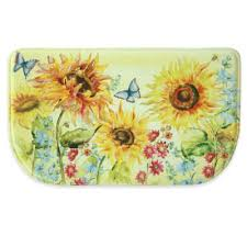 sunflower canister sets kitchen buy sunflower kitchen from bed bath beyond