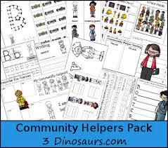 free community helpers printable pack free homeschool deals