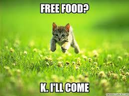Free Food Meme - free food here i come student life in brisbane