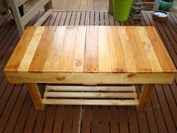 Wood Pallet Furniture Winston Woodworks Wooden Pallet Coffee Table Rectangular