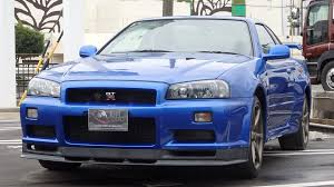 jdm nissan skyline r34 nissan skyline gtr r34 v spec ii nur for sale in japan