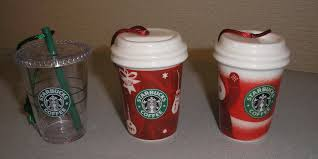 starbucks ornaments starbucks ornament flickr