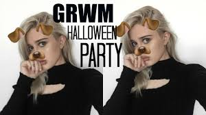 2017 halloween costume ideas grwm halloween party 4 easy halloween costume ideas youtube