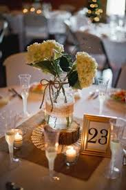 Picture Frame Centerpieces by Colored Glass Vintage Chic Wedding Reception Kansas City Wedding