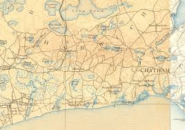 Map Of Cape Cod Ma Usgenweb Harwich Ma