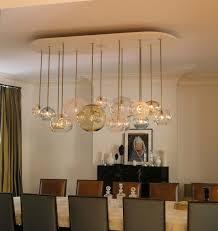 artistic modern dining room wooden pendant light fixtures over a