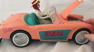 barbie convertible barbie clock radio replica of barbie u0027s original 1962 convertible