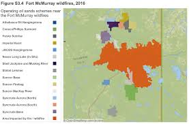 Fort Mcmurray Alberta Canada Map by Incredible New Aer Interactive Map Shows How Close The Wildfire
