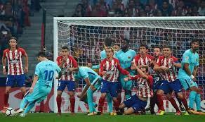 la liga live scores and table barcelona vs atletico madrid live stream tv channel start time