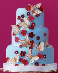 Wedding Cake Gum Blue Wedding Cakes Gallery