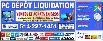 heure ouverture bureau en gros pc depot liquidation montréal vente en gros