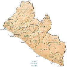 Liberia Africa Map by Phonebook Of Liberia Com 231 By Phonebook Of The World Com