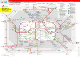 Urban Map Streckennetz Der Bvg Re Publica 2012