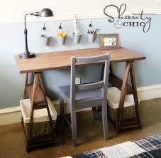 Diy Childrens Desk Diy Desk Modern Home Design