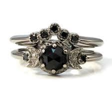 Black Diamond Wedding Rings by Best 25 Black Engagement Rings Ideas On Pinterest Black Diamond