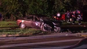 photos 9 injured in 3 vehicle crash in robbins abc7chicago com