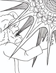 conversion of saint paul coloring page 01 the homely hours