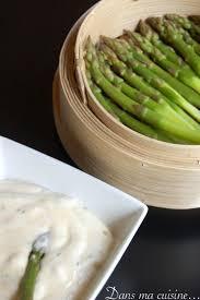 mousseline en cuisine asperges vapeur et sauce mousseline toute légère version ww dans
