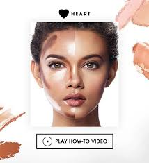 best contouring makeup contouring for heart shaped faceheart