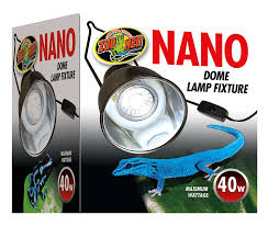 Zoo Med Lighting by Amazon Com Zoo Med Nano Dome Lamp Fixture Pet Supplies