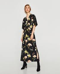 zara jumpsuit floral jumpsuit collection sale zara united states