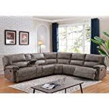 sectional sofas with recliners and cup holders com ufe robinson sectional sofa with recliner chaise