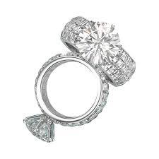 large diamond rings diamond engagement rings wide blaze shank