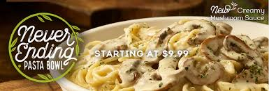 Olive Garden Never Ending Pasta Bowl Is Back - olive garden s never ending pasta bowl is back unlimited pasta