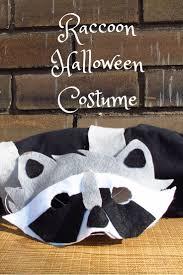 Raccoon Halloween Costumes Minute Diy Raccoon Costume Kiku Corner