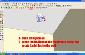 ies light tutorial using v for sketchup sketchup 3d
