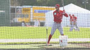 Grapefruit League Map Cardinals U0027 Jordan Schafer Pitches Plays Field Mlb Com