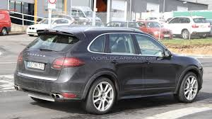 cayenne porsche 2012 2012 porsche cayenne turbo s spied for first time motor1 com photos