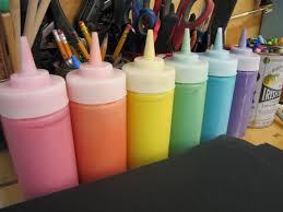 get your mess on puffy paint