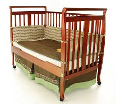 Convertible Sleigh Bed Crib On Me 2 In 1 Convertible Sleigh Crib