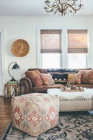 Bohemian Room Decor From Living Room To Family Room