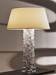 cl sterling u0026 son rock pillar table lamp