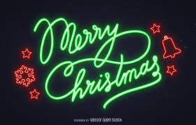 merry christmas sign neon merry christmas sign vector