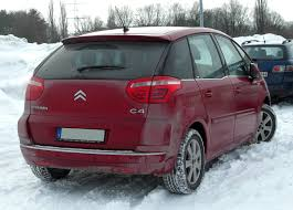 citroen c4 picasso trunk file citroën c4 picasso rear 20101225 jpg wikimedia commons