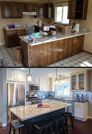 Paint Kitchen Cabinets Before After Best 25 Before After Kitchen Ideas On Pinterest Before After