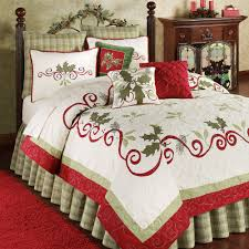 Bed Comforters Full Size Bedroom Comfortable Bedding Design With Sweet Christmas Flannel
