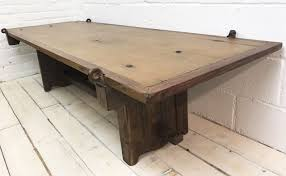 handmade reclaimed coffee table french countryside
