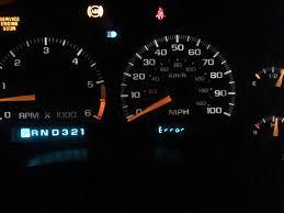 chevy service engine soon light 98 blazer instrument cluster issues blazer forum chevy blazer