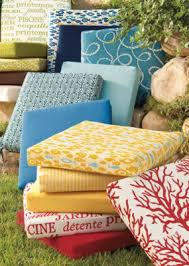 Outdoor Furniture Cushions Covers by Outdoor Furniture Cushions In All Prints Patio Perfection
