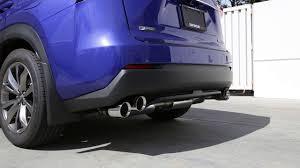 2016 lexus nx usa tanabe medalion touring exhaust 2015 2016 lexus nx 200t f sport